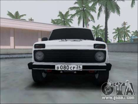Lada Niva for GTA San Andreas side view