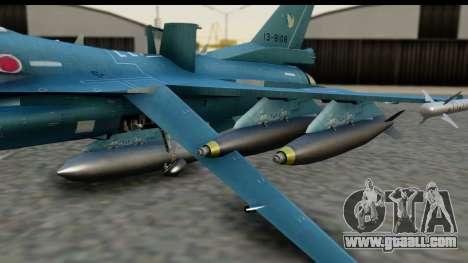 F-2A Viper Blue for GTA San Andreas right view