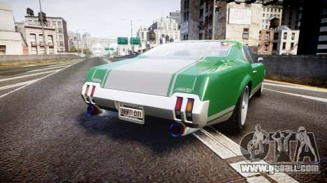 Declasse Sabre GT SS for GTA 4 back left view