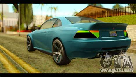 GTA 5 Ubermacht Zion XS IVF for GTA San Andreas left view