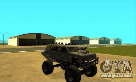 Hellish Extreme CripVoz RomeRo 2015 for GTA San Andreas engine