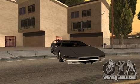 Infernus BanDit for GTA San Andreas left view