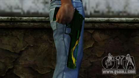 Desert Eagle Brazil for GTA San Andreas third screenshot