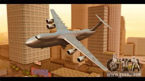 Lockheed C-5M RCAF for GTA San Andreas