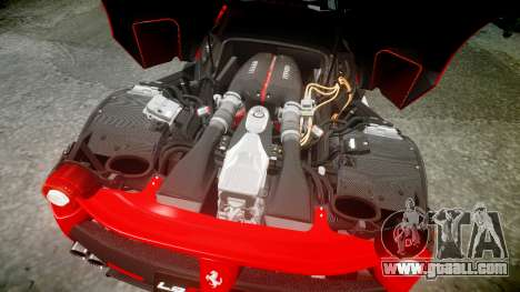 Ferrari LaFerrari 2013 HQ [EPM] PJ3 for GTA 4 upper view