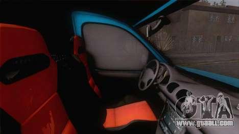 Renault Kangoo 2004 for GTA San Andreas back view