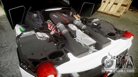 Ferrari LaFerrari 2013 HQ [EPM] PJ2 for GTA 4 upper view