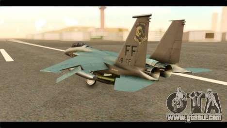 McDonnell Douglas F-15E Strike Eagle for GTA San Andreas left view