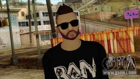 Skin 1 from GTA 5 for GTA San Andreas third screenshot