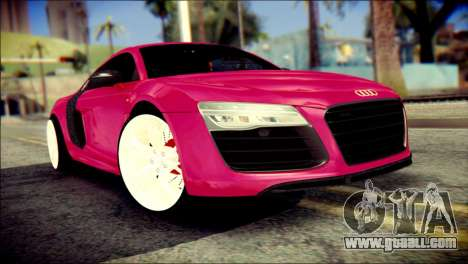Audi R8 V10 Plus 5.2 FSI 2013 for GTA San Andreas