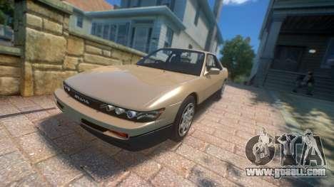 Nissan Silvia S13 1992 for GTA 4