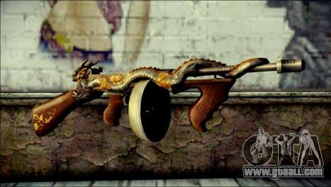 Thompson Infernal Dragon CrossFire for GTA San Andreas