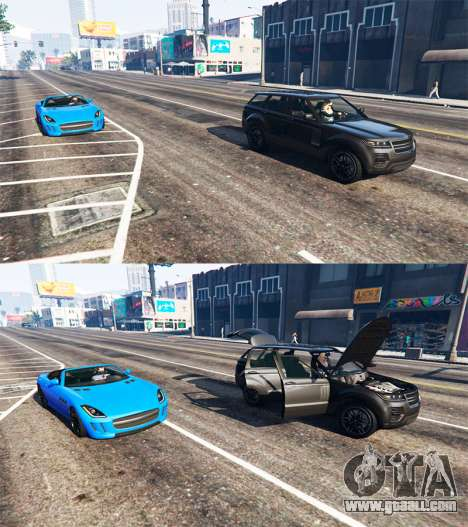 GTA 5 Deadly car door third screenshot