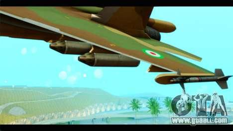 Sukhoi SU-34 IRIAF for GTA San Andreas right view