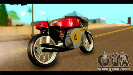 Honda RC 181 1967 for GTA San Andreas left view