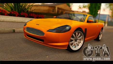 GTA 5 Dewbauchee Super GT for GTA San Andreas