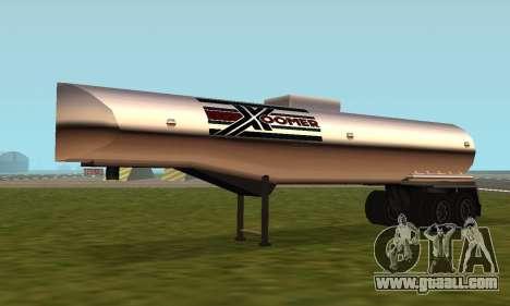 PS2 Petrol Trailer for GTA San Andreas