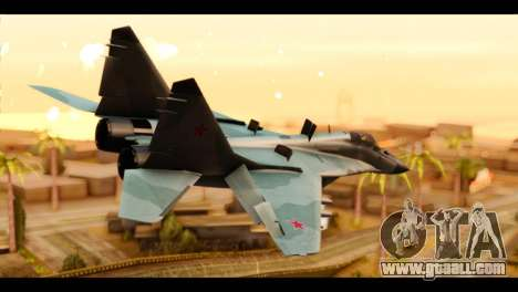 MIG-29 Fulcrum for GTA San Andreas left view