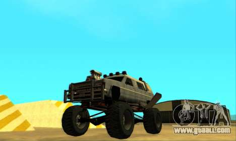 Hellish Extreme CripVoz RomeRo 2015 for GTA San Andreas wheels