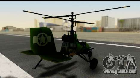Gyrocopter for GTA San Andreas left view