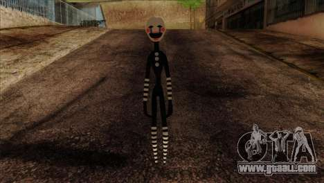 Puppet from Five Nights at Freddy 2 for GTA San Andreas