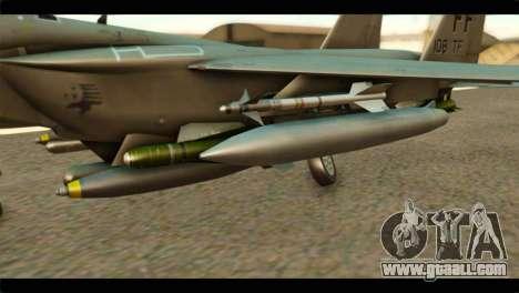 McDonnell Douglas F-15E Strike Eagle for GTA San Andreas right view