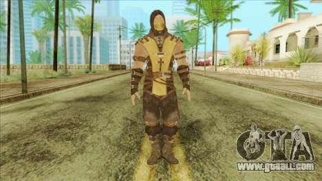 Mortal Kombat X Scoprion Skin for GTA San Andreas
