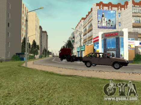 Prostokvashino for GTA Criminal Russia beta 2 for GTA San Andreas sixth screenshot