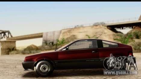 GTA 5 Dinka Blista Compact for GTA San Andreas back view