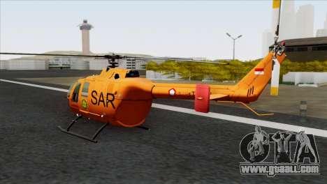 MBB BO-105 Basarnas for GTA San Andreas left view