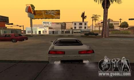 Infernus BanDit for GTA San Andreas back left view