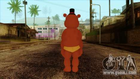 Toy Freddy from Five Nights at Freddy 2 for GTA San Andreas second screenshot