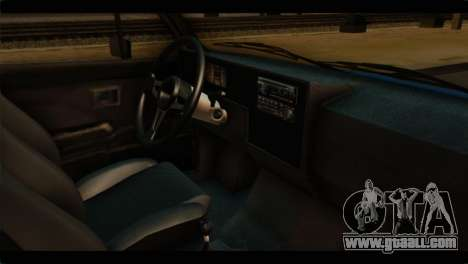 Volkswagen Caddy Mk1 Stock for GTA San Andreas right view