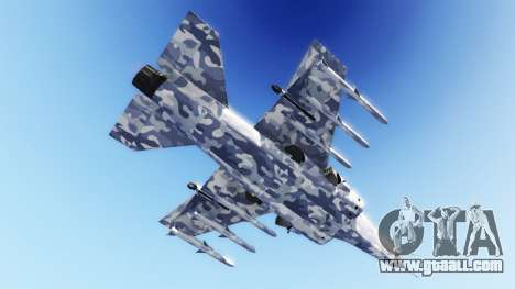 Hydra light blue camouflage for GTA 5
