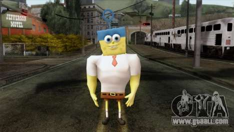 Spongebob as Mr.Invincibubble for GTA San Andreas