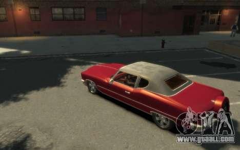GTA 3 Yardie Lobo HD for GTA 4 left view