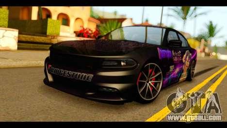 Dodge Charger RT 2015 Hestia for GTA San Andreas