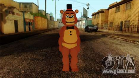Toy Freddy from Five Nights at Freddy 2 for GTA San Andreas
