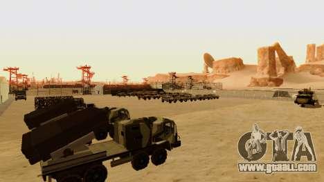 DLC 3.0 Military update for GTA San Andreas sixth screenshot