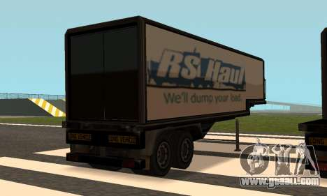 PS2 Article Trailer for GTA San Andreas back left view