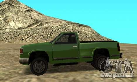PS2 Yosemite for GTA San Andreas back left view