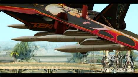 SU-35 Flanker-E Tekken for GTA San Andreas right view