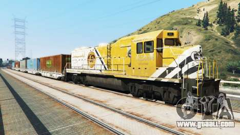 Engineer railroad v2.5 for GTA 5