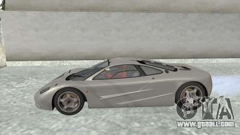 1992 McLaren F1 Clinic Model Custom Tunable v1.0 for GTA San Andreas right view