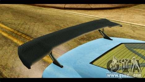 GTA 5 Ocelot F620 IVF for GTA San Andreas back view