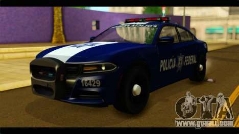 Dodge Charger 2015 Mexican Police for GTA San Andreas