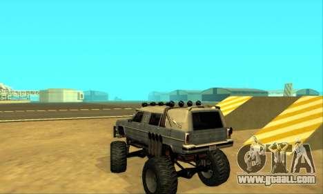Hellish Extreme CripVoz RomeRo 2015 for GTA San Andreas bottom view