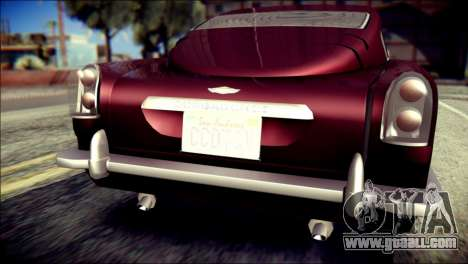 GTA 5 Dewbauchee JB 700 for GTA San Andreas back view