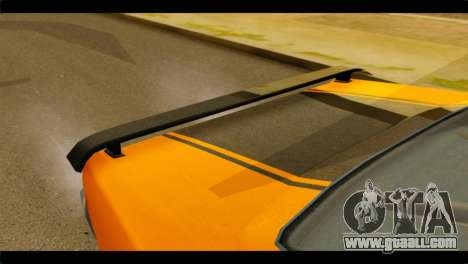 GTA 5 Declasse Sabre GT Turbo IVF for GTA San Andreas back view