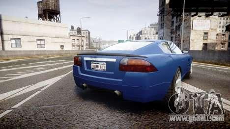 GTA V Ocelot F620 R for GTA 4 back left view